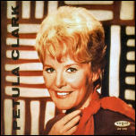 "German album sleeve ""Petula Clark"" issued in 1963"