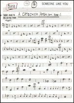 Amen production sheet music